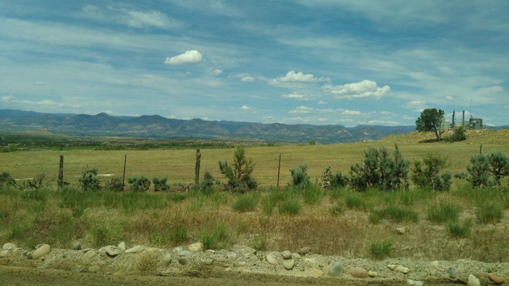 Pictured: a ranch site in Garfield County