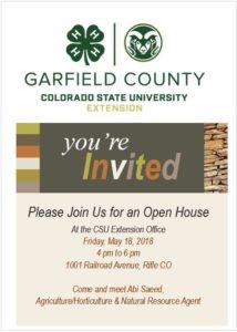 CSU Open House Invitation