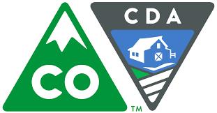 Colorado and Colorado Department of Agriculture logo