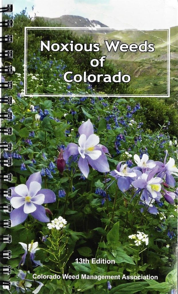 Noxious Weeds of Colorado 13th Edition cover photo
